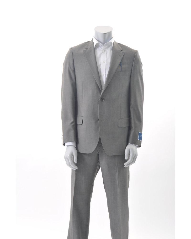 S COHEN Classic Fit Taupe Suit