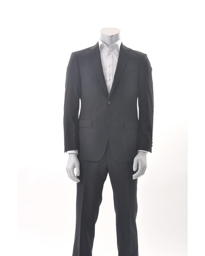 S COHEN Modern Fit Black Suit