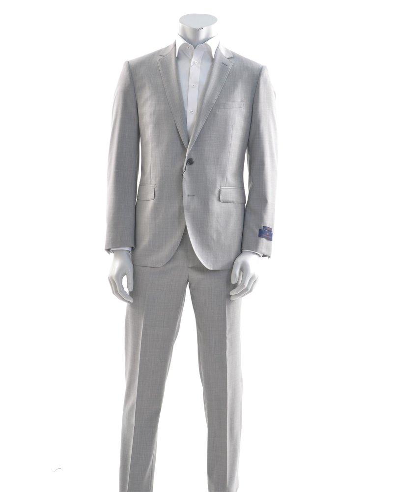 PAUL BETENLY Modern Fit Light Grey Suit