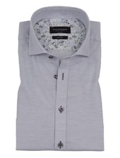 BRUUN & STENGADE Modern Fit Blue and White Neat Shirt