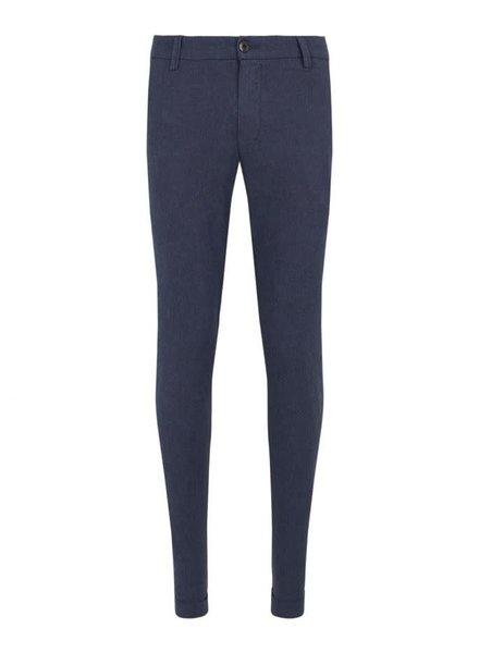 BRUUN & STENGADE Blue Oxford Pant