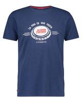 A FISH NAMED FRED La Vida Navy T Shirt