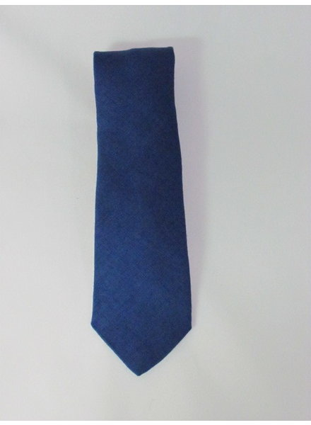 DION Bright Blue Silk Tie