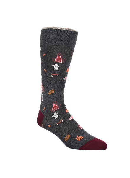 DION BBQ Themed Sock