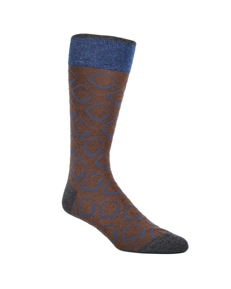 DION Square Pattern  Sock