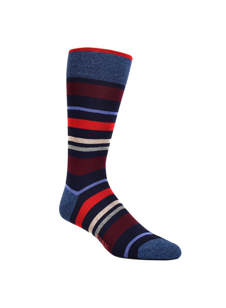 DION Multi Stripe Sock