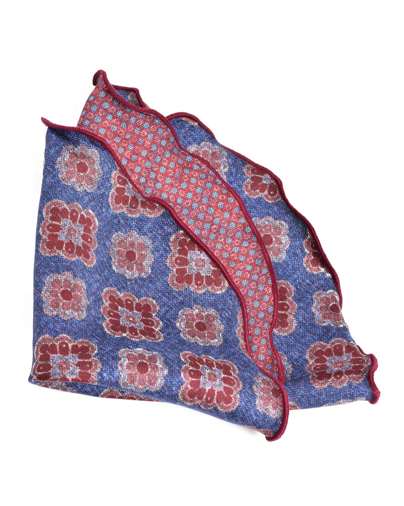 DION Blue Pink Pocket Round