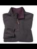 JOHNSTON & MURPHY Burgundy Reversible 1/4 Zip Knit