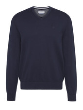 BUGATTI Cotton Cashmere V Neck Sweater