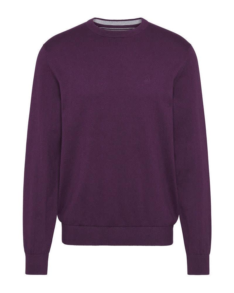 BUGATTI Cotton Cashmere V Neck Sweater