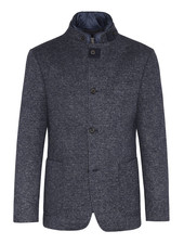 BUGATTI Blue Wool Casual Sportcoat