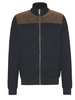 BUGATTI Charcoal with Corduroy Trim Full Zip