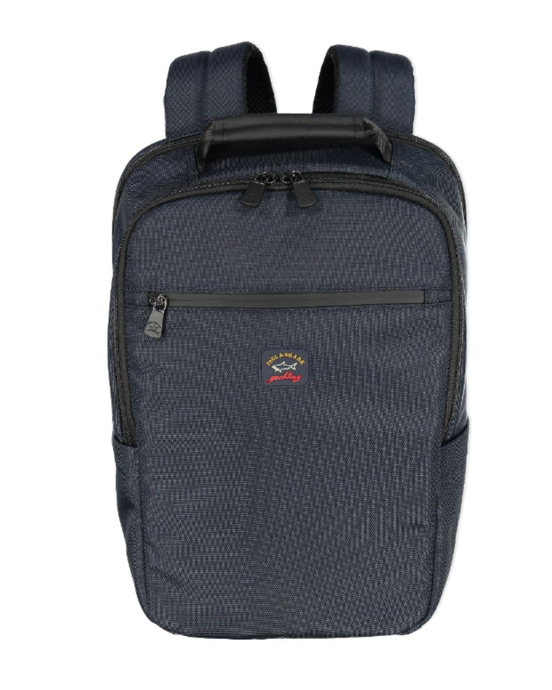 PAUL & SHARK Navy Nylon Backpack