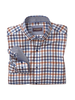 JOHNSTON & MURPHY Classic Fit Tri Colour Gingham Shirt