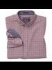 JOHNSTON & MURPHY Classic Fit XC4 Red Gingham Shirt