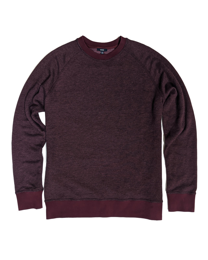 BENSON Basic Heathered Crewneck