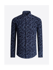 BUGATCHI UOMO Modern Fit Floral 4 Way Stretch Shirt