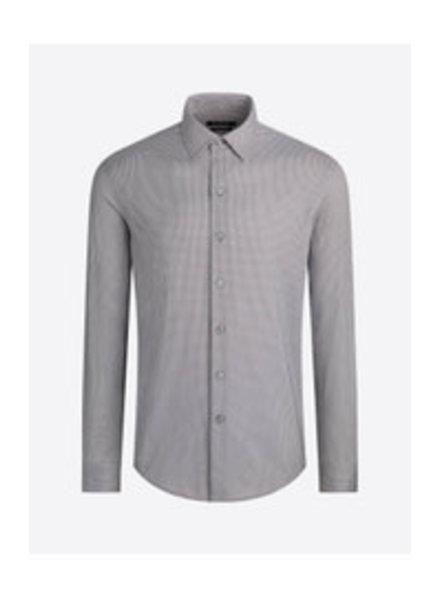 BUGATCHI UOMO Modern Fit Ooh Cotton Neat Shirt