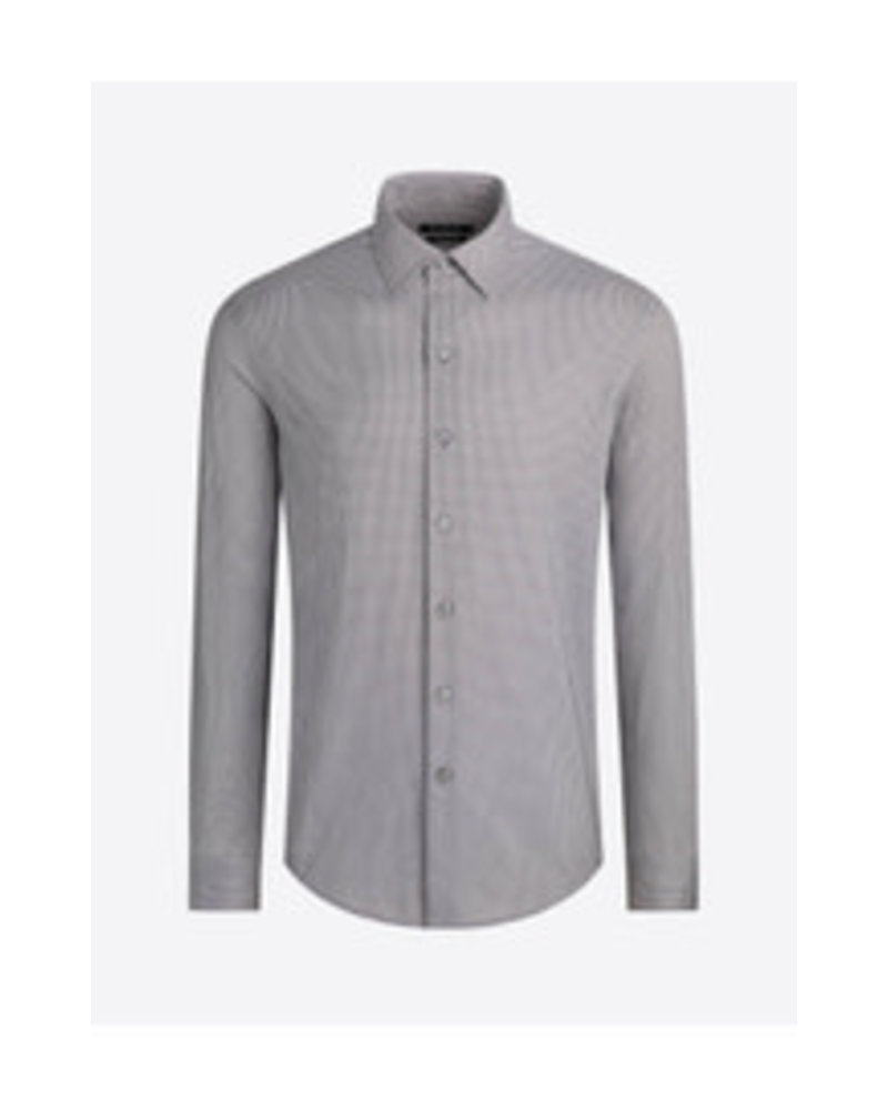 BUGATCHI UOMO Modern Fit Ooh Cotton Neat Shirt