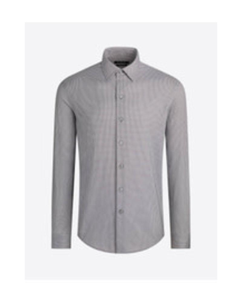 BUGATCHI UOMO Modern Fit Oooh Cotton Neat Shirt