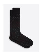 BUGATCHI UOMO Cotton Cashmere Dot Sock