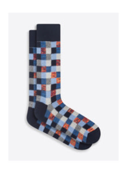 BUGATCHI UOMO Cotton Patchwork Sock