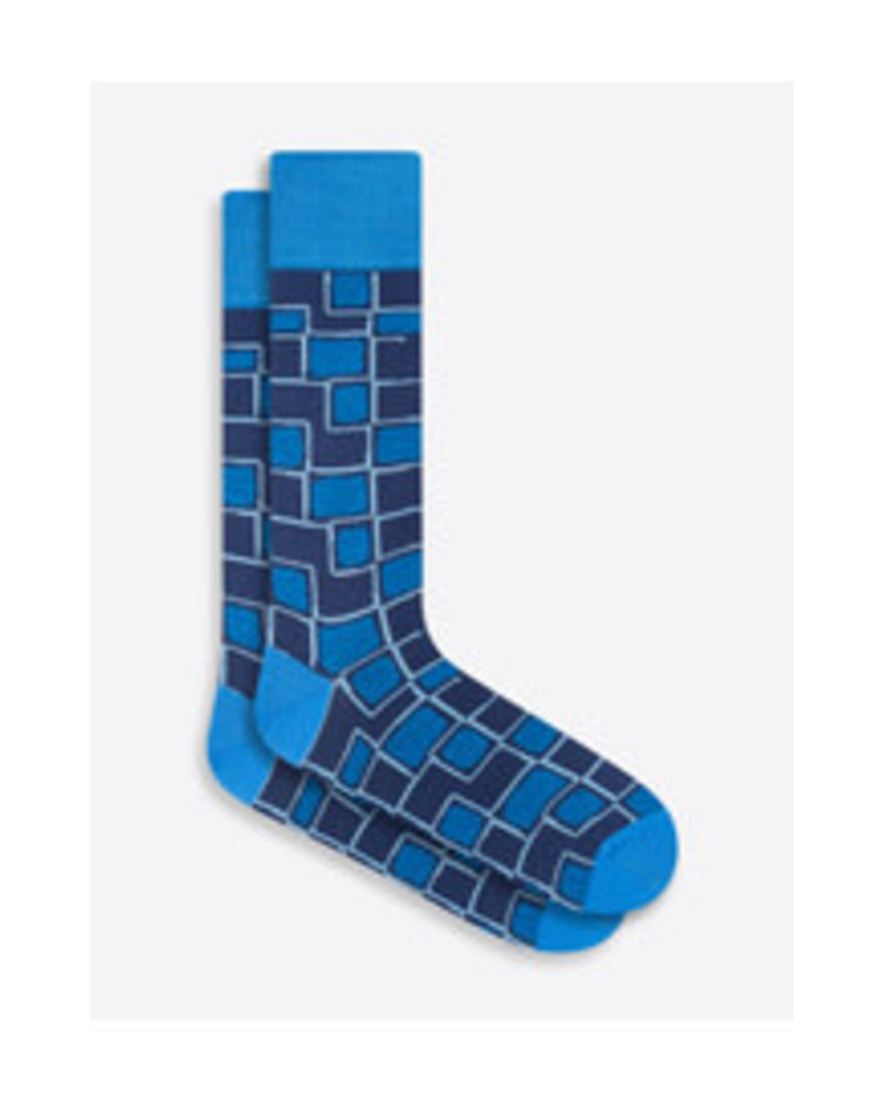 BUGATCHI UOMO Cotton Big Pattern Sock