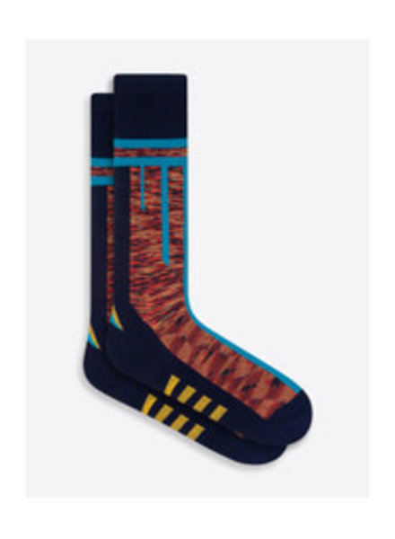 BUGATCHI UOMO Cotton Multi Pattern Sock