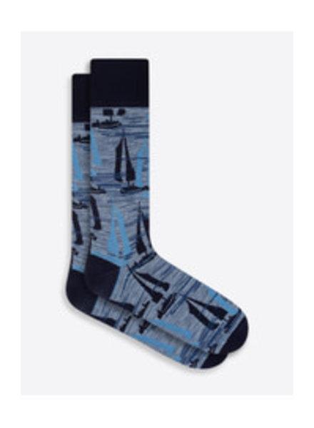 BUGATCHI UOMO Cotton Sailboat Sock