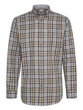 BUGATTI Modern Fit Plaid Shirt