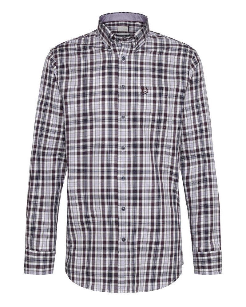 BUGATTI Modern Fit Plaid Shirt