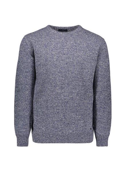 PAUL & SHARK Denim Blue Eco Cashmere Crewneck Sweater