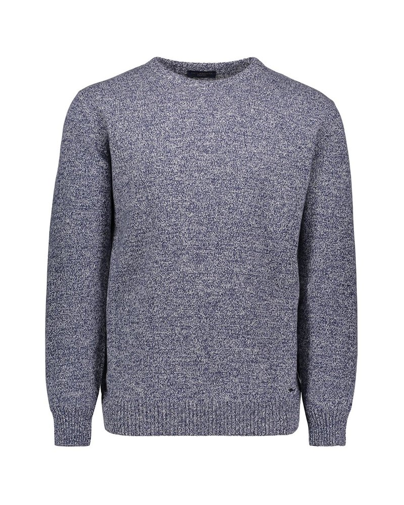 PAUL & SHARK Denim Blue Eco Cashmere Crewneck Sweater