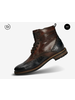 BUGATTI Blue & Brown Brogue Boot