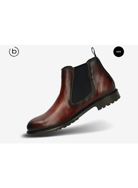 BUGATTI Brown Chelsea Boot