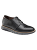 JOHNSTON & MURPHY Black Vaughan Plain Toe Shoe