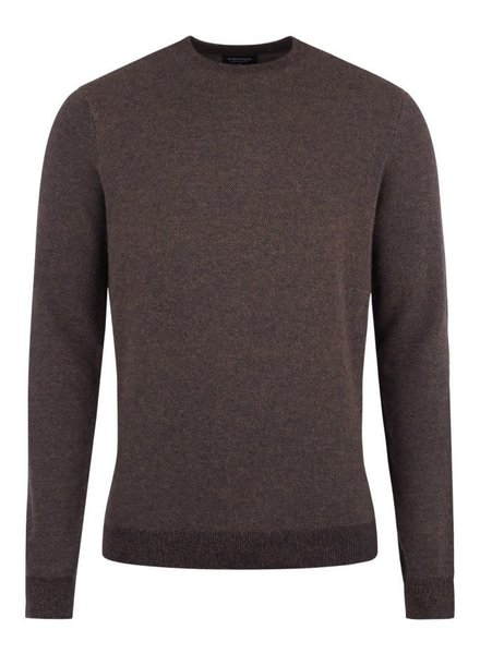 BRUUN & STENGADE Wool Blend Crew Neck Sweater
