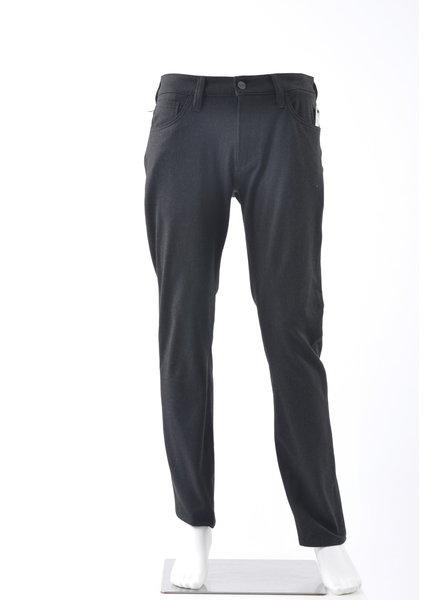 34 HERITAGE Slim Fit Charcoal Winter Cashmere 5 Pocket