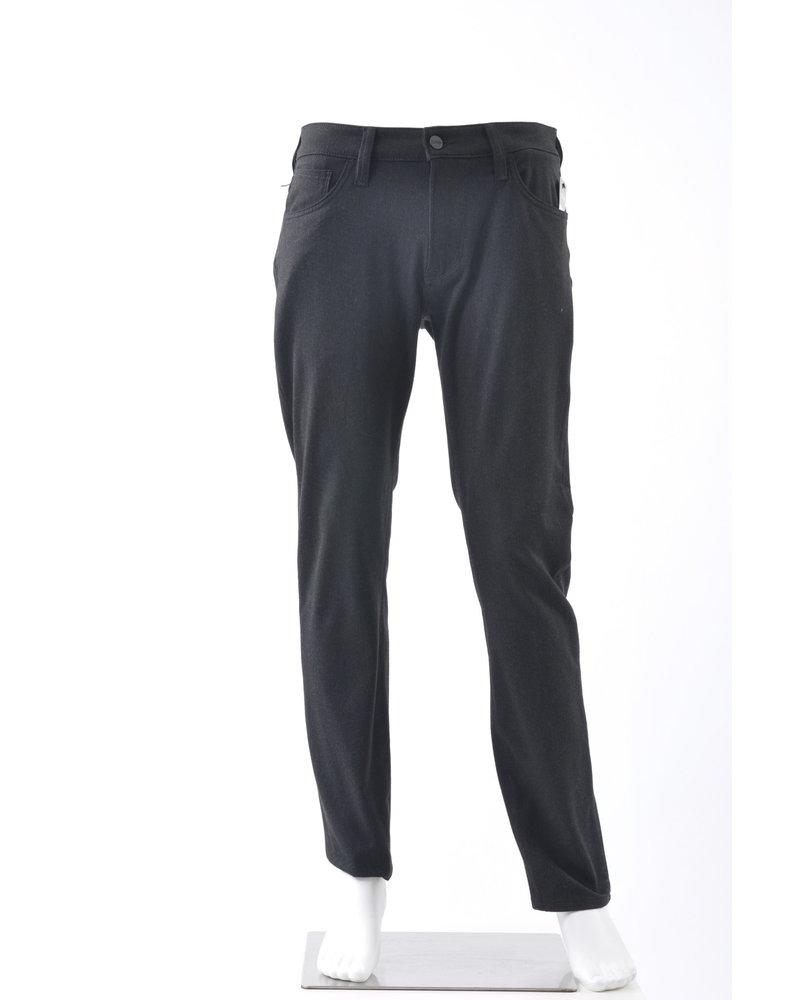 34 HERITAGE Slim Fit Charcoal Cashmere 5 Pocket
