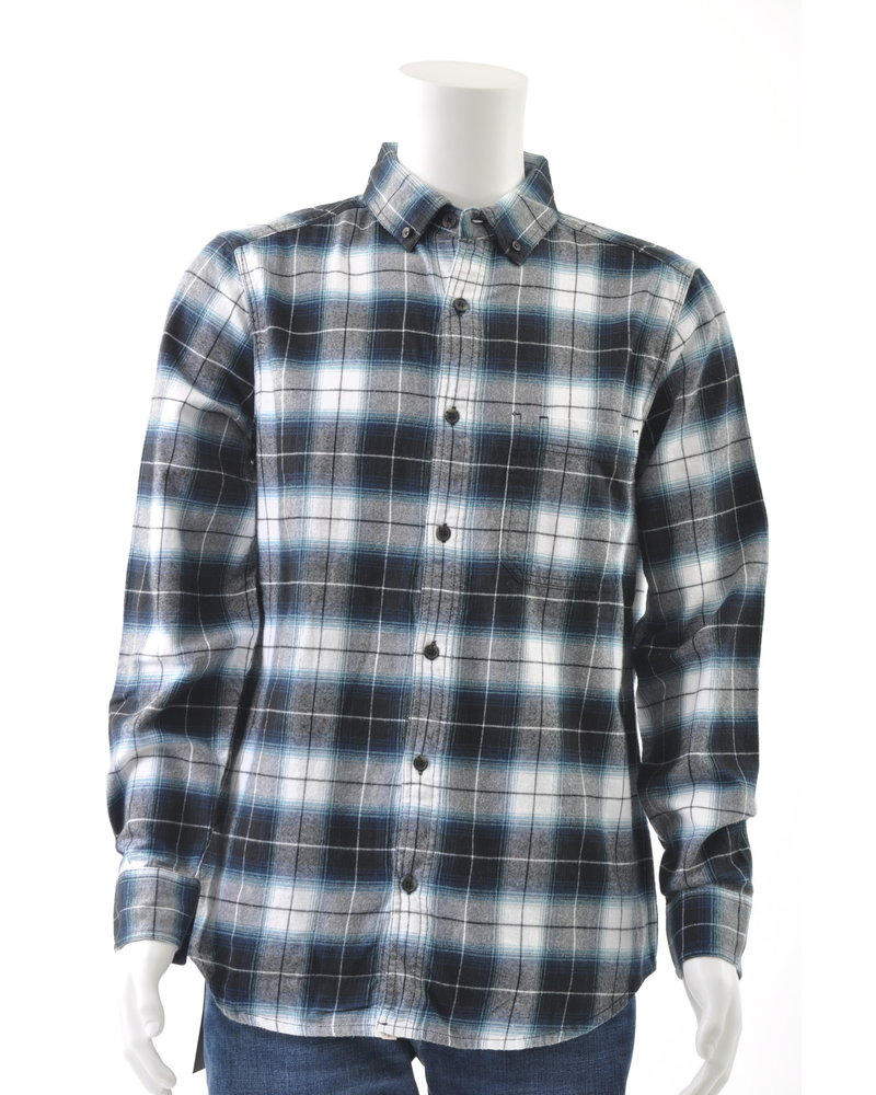 Old Ranch Classic Fit 1 Pocket Flannel Shirt