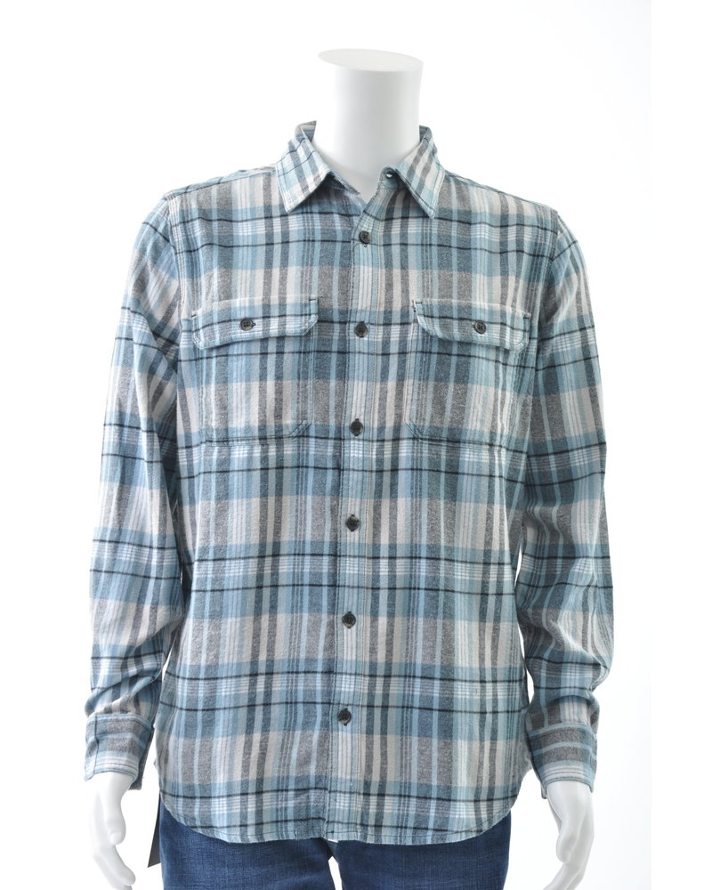 Classic Fit 2 Pocket Flannel Shirt