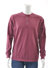 OLD RANCH Long Sleeve Henley