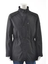 S4 Black Stroller Casual Coat
