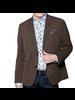 7 DOWNIE Modern Fit Brown Sport Coat