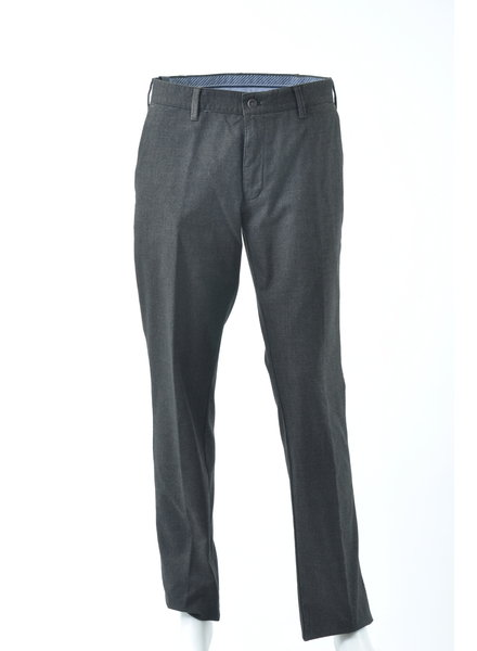 SUNWILL Modern Fit Brown Twill Casual Pant