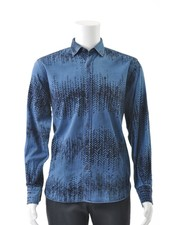 LUCHIANO VISCONTI Modern Fit Denim with Flossing Shirt