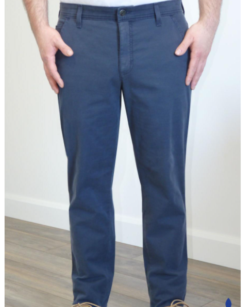 MARCO Classic Fit Navy Stretch Casual Pant