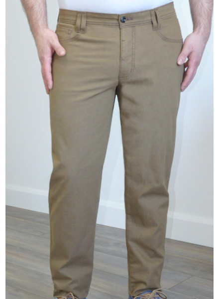 MARCO Modern Fit Solid Stretch 5 Pocket Carmel