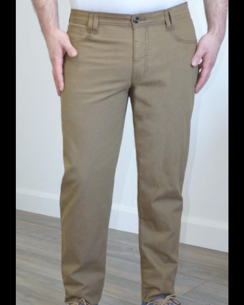 MARCO Modern Fit Solid Stretch 5 Pocket Carmel