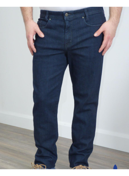 MARCO Modern Fit Dark Blue Stretch Denim